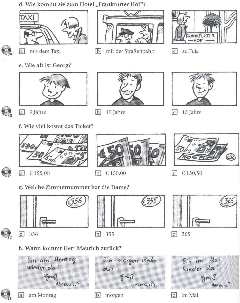 English Tests - Horen test 1